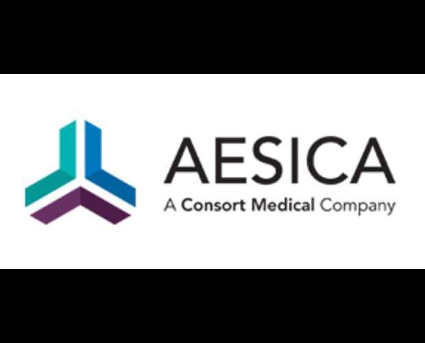 Aesica Logo - A Consort Medical Company