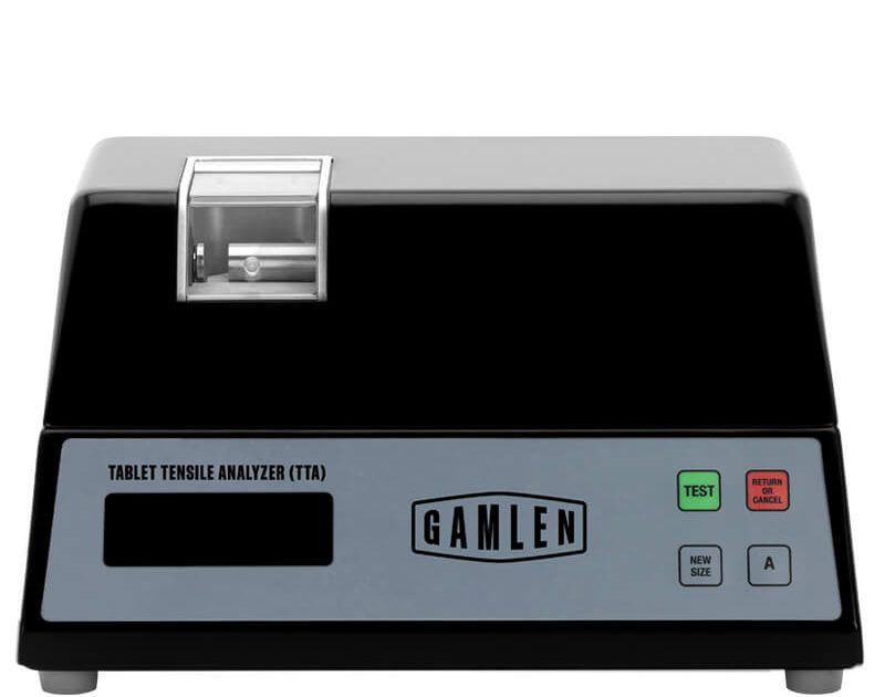 GAMLEN TABLET TENSILE ANALYSER (TTA) - an automatic measurement of key tablet critical quality attributes