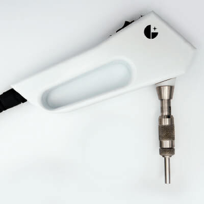 Gampette Precision Powder Pipette - image of the hand-held device